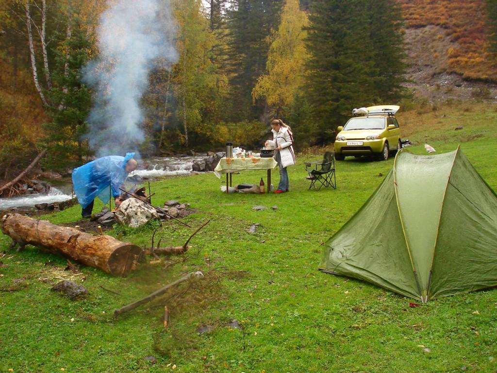 Активный отдых(Экспедиция по Алтаю,день первый -завтрак)