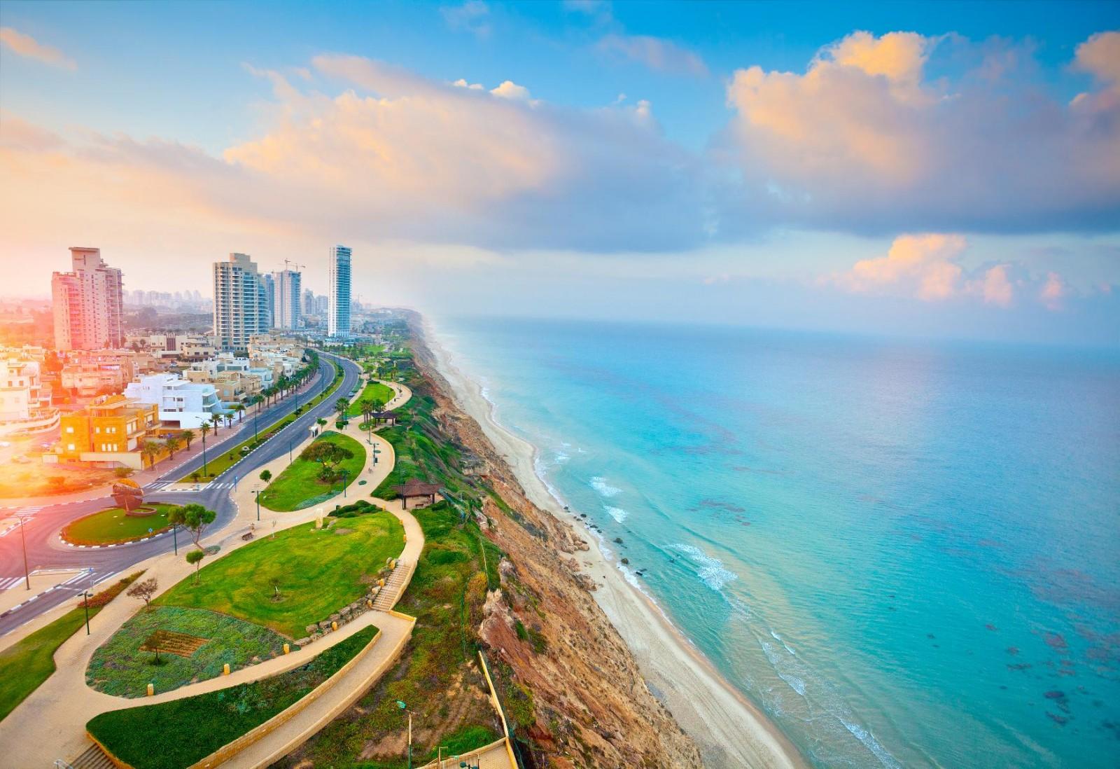 Нетания - один из красивейших городов Израиля.